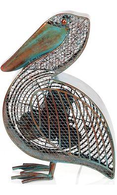 Deco Breeze DBF0366 Cast-Metal 16-1/2-Inch Pelican-Shaped Decorative Fan Best Price