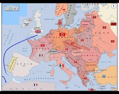 Image result for maps of ww2