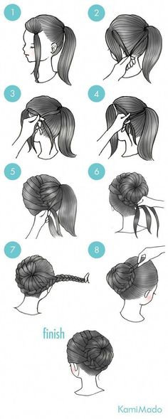 Box braids in braided bun Tied to the front of the head, the braids form a voluminous chignon perfect for an evening look. The glamorous touch: mix plum, caramel and brown locks. Box braids in side hair Placed on the shoulder… Continue Reading → Girl Hairstyles, Braided Hairstyles, Ballet Hairstyles, Mexican Hairstyles, Latest Hairstyles, French Hairstyles, Second Day Hairstyles, Female Hairstyles, Beautiful Hairstyles