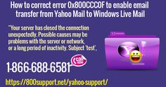 Yahoo! Mail users configure their email account in Windows Live. After configuring Yahoo! Mail account in Windows Live, the user exports emails from Yahoo Mail to Windows Live Mail.