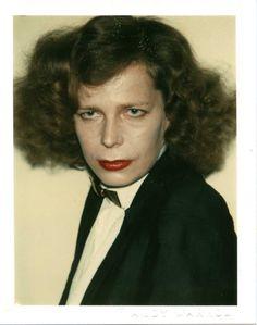 kairosgrzincic: Mrs. Hans Meyer polaroid by Andy Warhol