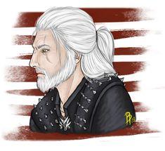 Geralt by PollutedArt