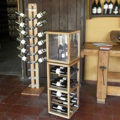 modular bottle holder suitable for setting up exhibition stands and shops…