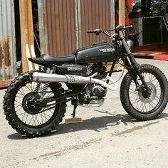 Honda GL100 #scrambler discover #motomood