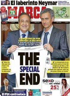 The special end / Portada del 21 de Mayo de 2013