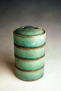 Maya Machin, wood-fired stoneware