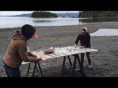 how to tan salmon skin - Google Search Skins Clothing, Tanning Hides, How To Tan, Salmon Skin, Tan Skin, Bushcraft, Tlingit, Mary, Primitive