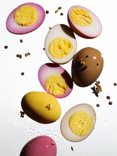 Pickled Pub Eggs. Food styling by Victoria Granof.