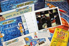 Space Scouts Monthly Subscription Box - Learn about the universe and all of it's wonders.