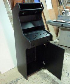 Arcade Diy, Retro Arcade Games, Arcade Room, Bartop Arcade Plans, Arcade Cabinet Plans, Gaming Cabinet, Arcade Stick, Nerd Room, Home Theater Rooms