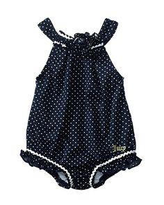 Layette Polka Dot Swimsuit