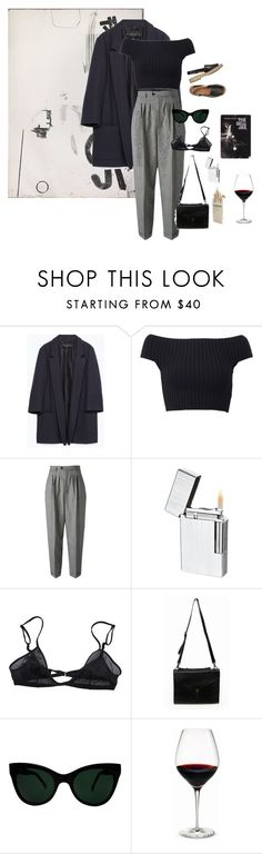 """grey hairs"" by s-ilky ❤ liked on Polyvore featuring Zara, Michael Kors, Yves Saint Laurent, Visol, Bllack by Noir, KamaliKulture and Holmegaard"