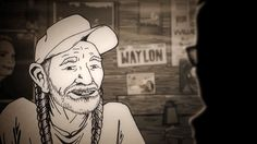 An animated Willie Nelson talks about the time his lung collapsed Great Job Internet!: An animated Willie Nelson talks about the time his lung collapsed            Considering his outsized public persona it is no surprise that outlaw country legend Willie Nelson has ventured into the world of animation a few times.   The Simpsons   memorably gave him  Pippi Longstocking -type braids in its Behind The Laughter episode. Over on Cartoon Network Nelson amiably chatted with a costumed…