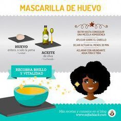 3 mascarillas caseras para devolver la salud a tus rizos - The best fashion types in the world fashionlife Natural Hair Care Tips, Curly Hair Tips, Curly Hair Styles, Natural Hair Styles, Cabello Hair, Curly Girl Method, Face Tips, Moisturize Hair, Facial Care