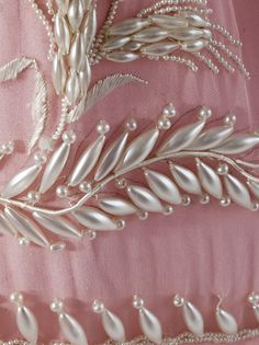 Detail - Woman's Dress, circa 1830, LACMA Collections Online