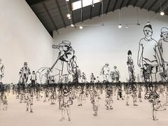 People I Saw But Never Met: Thousands of Miniature Metal Figurines by Zadok Ben-David | Colossal