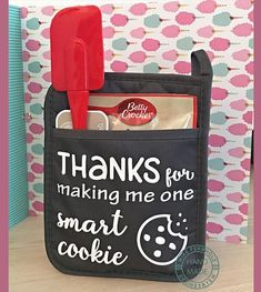 Smart Cookie SVG. Great for teacher's gift. Silhouette Cameo or Cricut Design Space. Vinyl project.