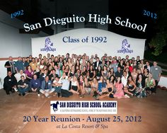 20-year reunion group photo