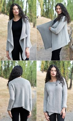 (Photos: Cascade Yarns) My Favorite Cardigan by Cheryl Bekerich was just posted to Ravelry this week and it's a great addition to the Fall lineup of new patterns! As far as sweater patterns go, th...