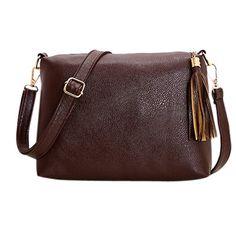 Brand designer women bag soft leather crossbody bag shoulder bags women messenger bags candy color small tassel bolsos