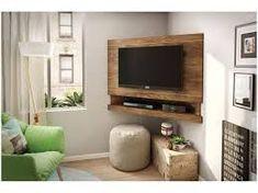 Corner tv for our living room Living Room Tv Unit, Interior Design Living Room, Living Room Designs, Living Room Decor, Corner Tv Stands, Corner Tv Unit, Tv Unit Furniture, Pallet Furniture, Tv Rack Design