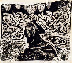 Bombardeio.1940 | Lívio Abramo