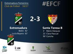 2da DIVISIÓN | Jornada 9  Extremadura 2-3 Santa Teresa B  #EFCF #futfem #segunda