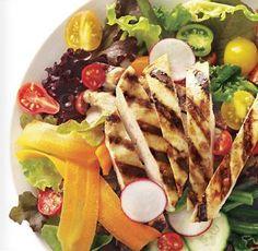 Italian Grilled Chicken Salad. http://www.cuisinelinks.com/ViewRecipe_Italian-Grilled-Chicken-Salad_1734