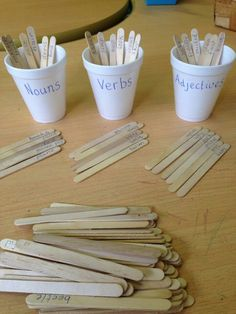 A good activity to learn nouns, verbs, and adjectives.