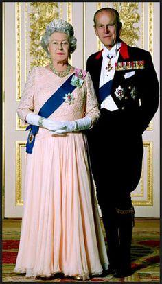 Queen Elizabeth II & Prince Philip.