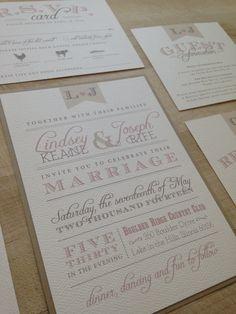 Elegant Barn Vintage Wedding Invitation by AMGDesignCo on Etsy