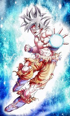 Mastered Ultra Instinct Goku by SkyGoku7.deviantart.com on @DeviantArt