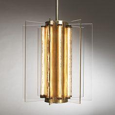 Samuel Marx, Pendant Light from the Morton D. May House, 1940s. #GISSLER #interiordesign