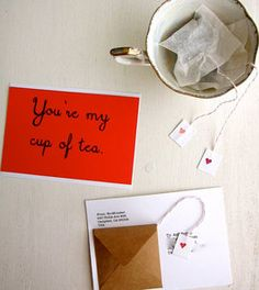 diy tea love tea-gram (diy tea bags)