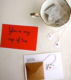 diy tea love tea-gram (diy tea bags)