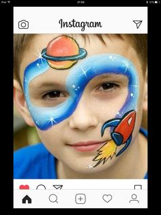 Face Painting Designs, Paint Designs, Boys Like, Carnival, Instagram