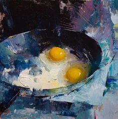 Art painting oil - 40 Hyper Realistic Oil Painting Ideas To Try – Art painting oil Simple Oil Painting, Realistic Oil Painting, Oil Painting Abstract, Painting & Drawing, Abstract Art, Modern Oil Painting, Painting Videos, Painting Eggs, Food Painting