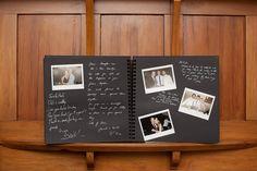 Ook leuk voor een gastenboek!!! Wel heel erg persoonlijk en leuk met de foto's erbij zo!