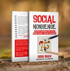 GSL Social Nonsense with Doug Shaw — Inverse Genius County Library, Mathematics, Board Games, Activities, Education, School, Creative, Kids, Math
