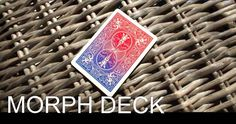 #Morph deck - #colour morphing illusion deck of magic #trick bicycle playing card,  View more on the LINK: 	http://www.zeppy.io/product/gb/2/252565590518/