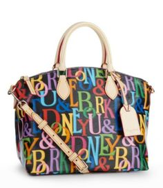 Dooney & Bourke Retro Satchel have this. One of my fave bags Types Of Bag, Louis Vuitton Handbags, Dooney Bourke, Dillards, Satchel, Style Inspiration, Purses, Retro, Hand Bags