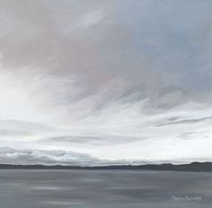 End of the day, West Wemyss Clouds, Day, Artwork, Outdoor, Inspiration, Charcoal, Pencil, Inspire, Paintings