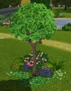 BogSims - Green Money Tree Replacement #Sims3