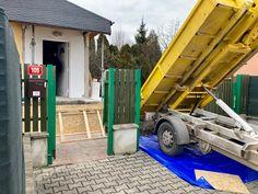 Betonování podlah a podesty v RD Trubín. 👷🏻♂️⚒