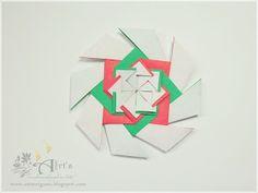 Art`s Origami: Criação - Mandala Wind