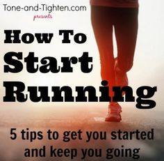 How to prepare for running season - includes advice, workouts, and a free running program to train for races! Tone-and-Tighten.com