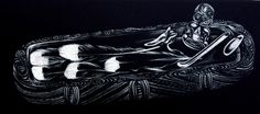 Alexis Neal, <i>Fernland</i>, Etching and Relief on 1120 x 270 mm paper, from an edition of 6, 2007. NZ$760 incl GST.