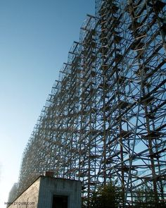 DUGA-3, A GIANT ABANDONED RADIO STRUCTURE WITHIN THE CHERNOBYL EXCLUSION ZONE
