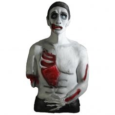 undead fred, a zombie 3D archery target