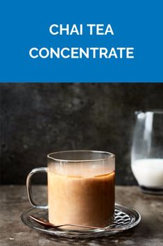 Chai Tea Concentrate | Get the recipe for Chai Tea Concentrate.